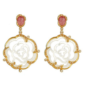 Carved Rose Earrings.350jpg